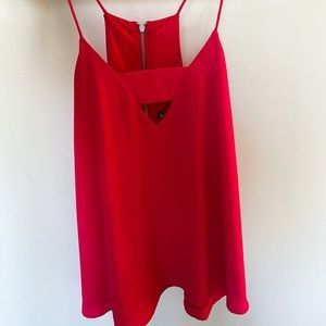 Express tank top with cut out